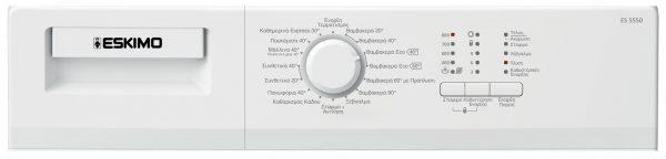 Eskimo Πλυντήριο Ρούχων ES 5550 W 2