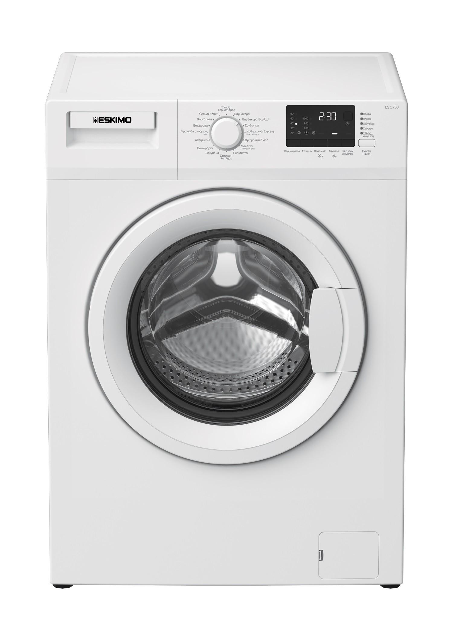 Eskimo Πλυντήριο Ρούχων ES 5750 W