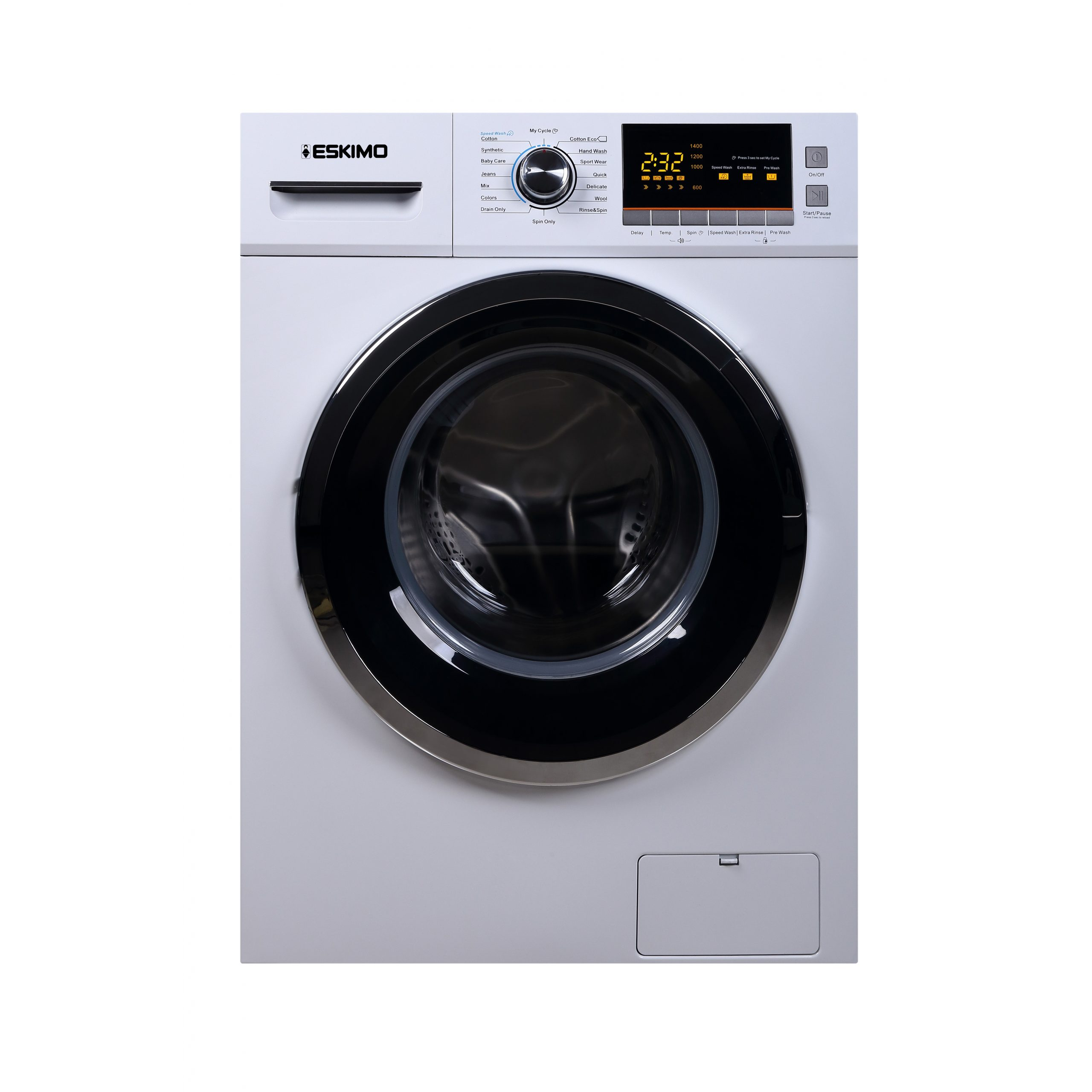 Eskimo Πλυντήριο Ρούχων ES 8970 Lux