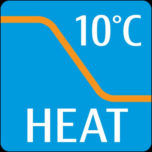 Λειτουργία Θέρµανσης 10°C
