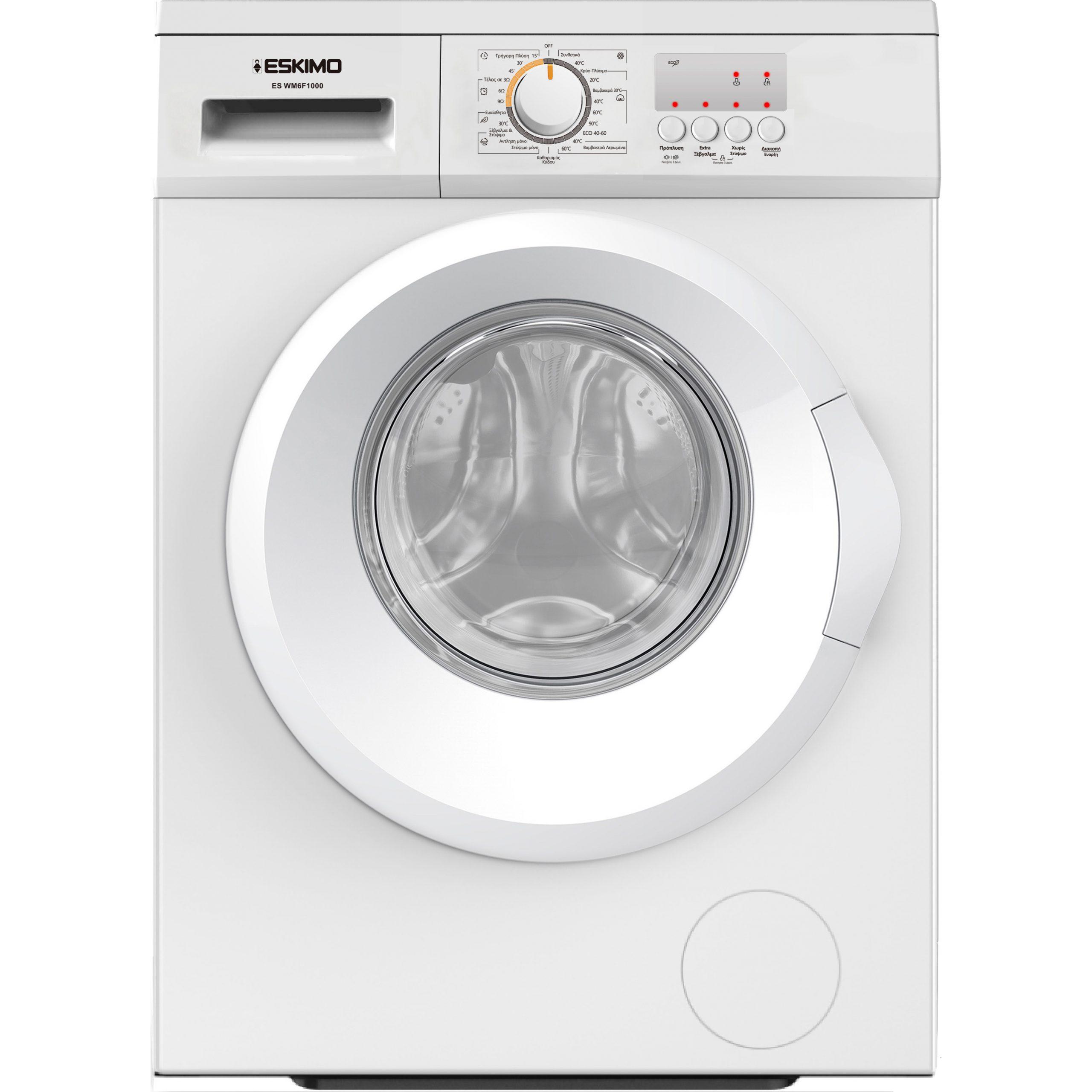 Eskimo Πλυντήριο Ρούχων ES WM6F1000