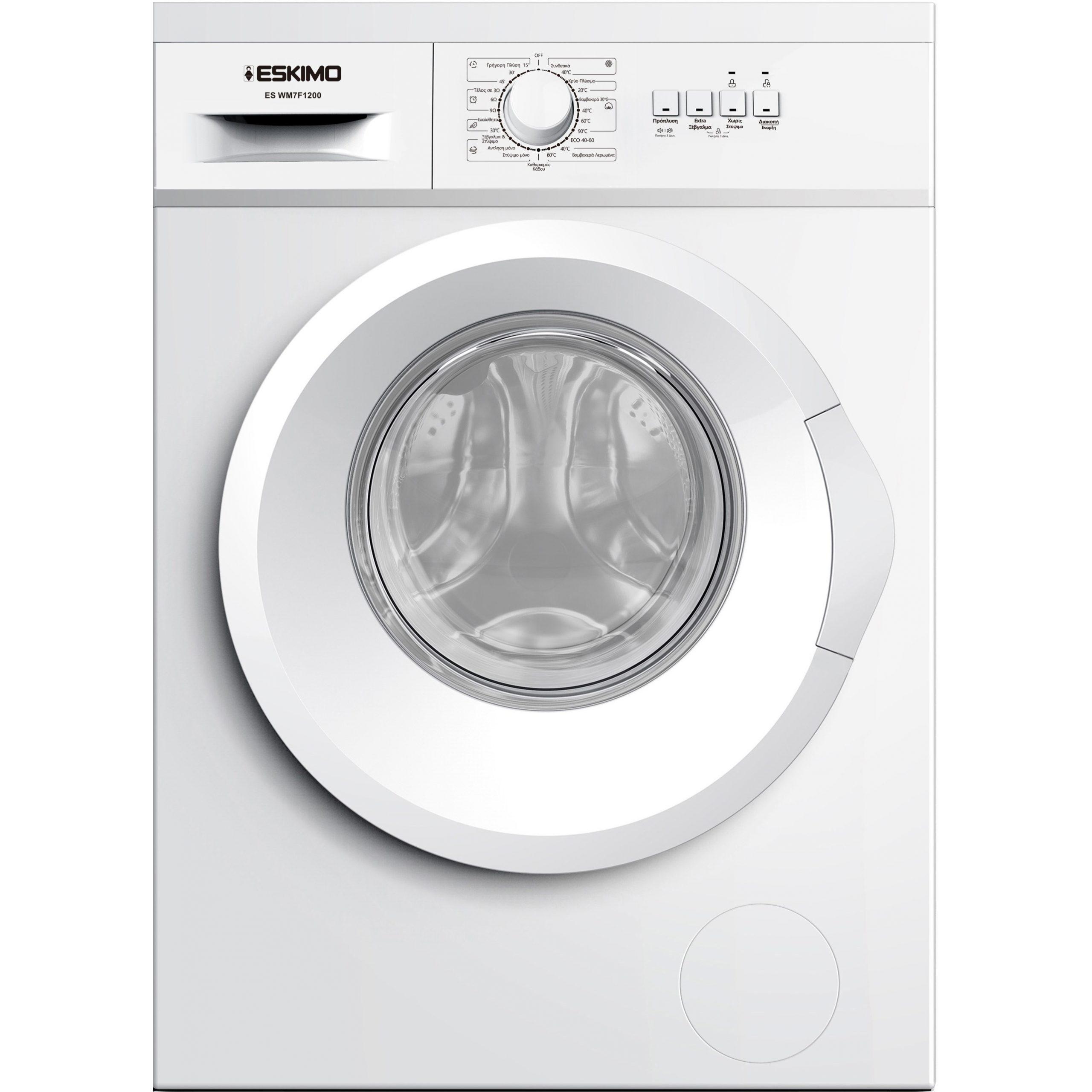 Eskimo Πλυντήριο Ρούχων ES WM7F1200