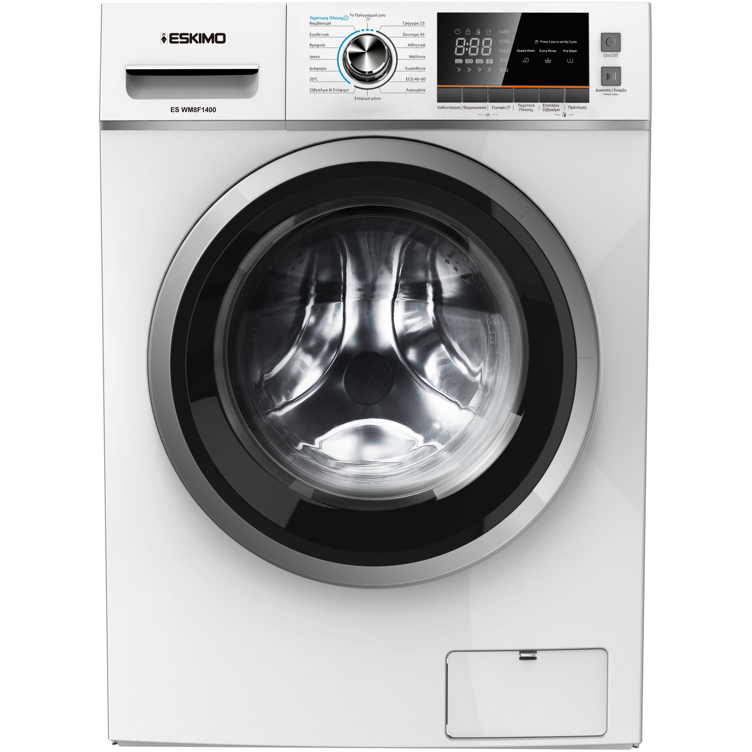 Eskimo Πλυντήριο Ρούχων ES WM8F1400