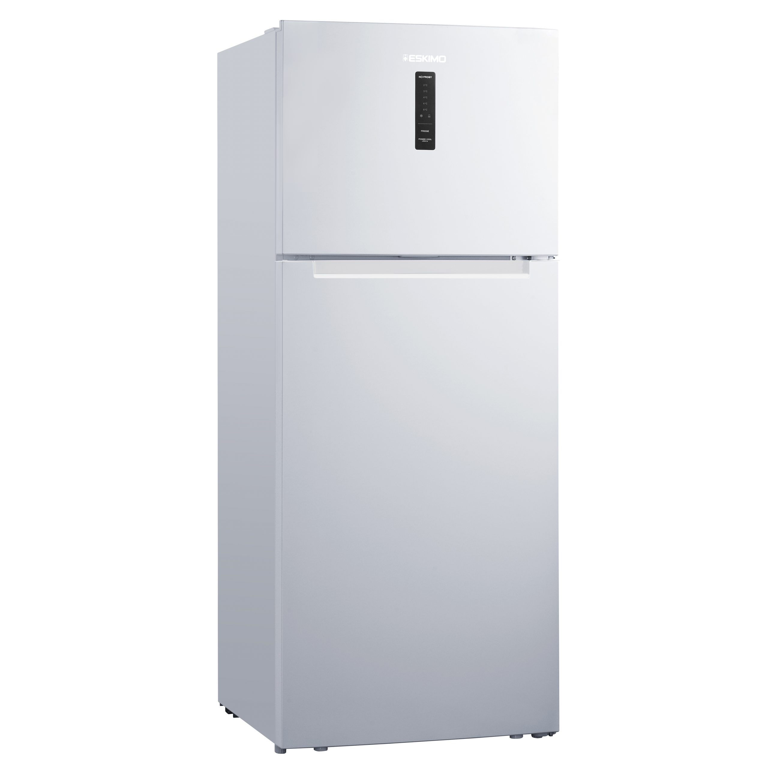 Eskimo Δίπορτο Ψυγείο ES RTF436NFW